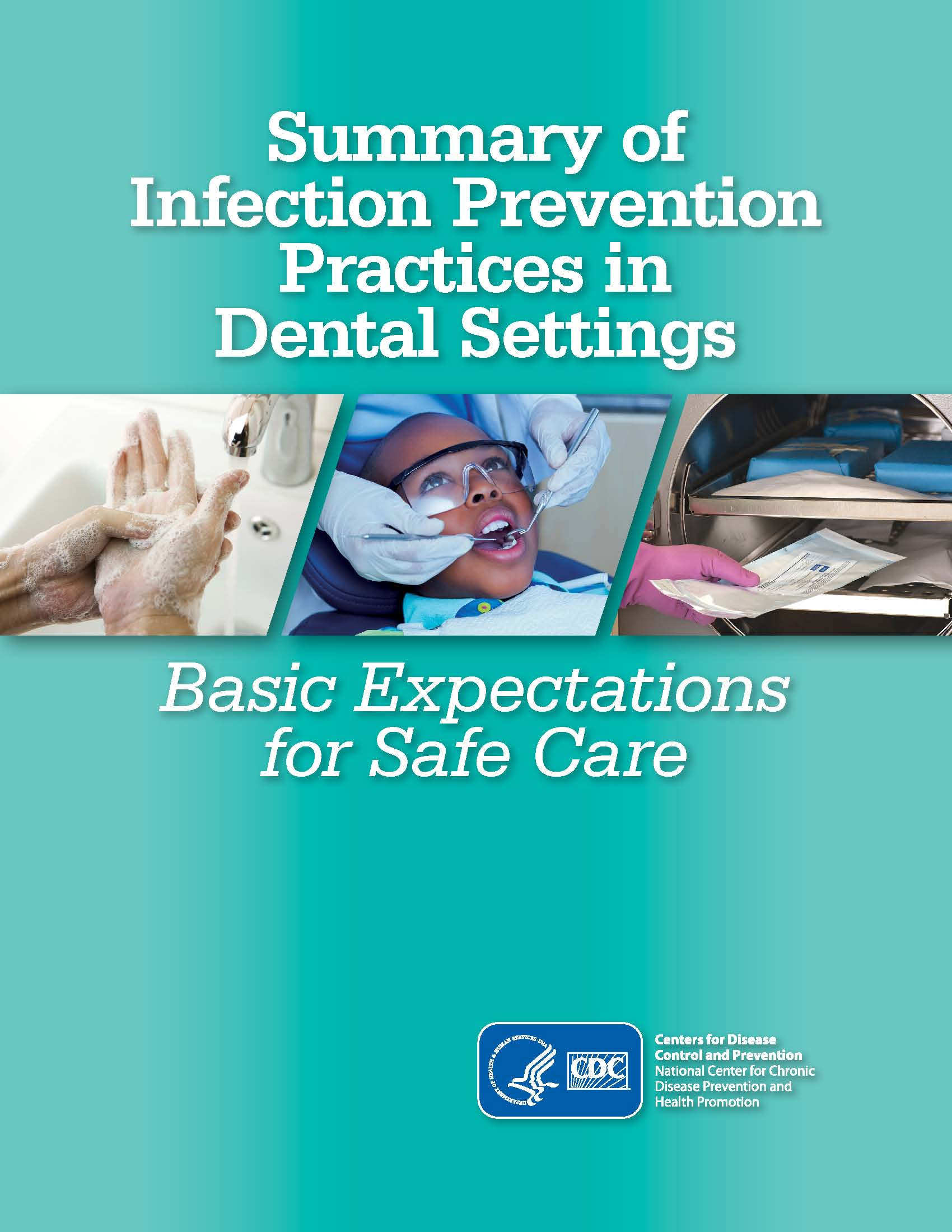 2016 CDC Guidelines for Infection Control in Dental Settings
