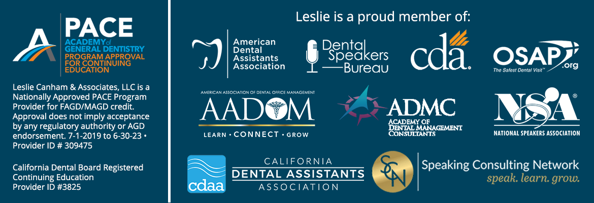 Leslie is a member of these organizations